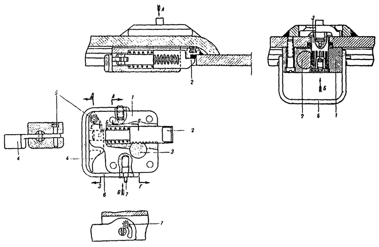 Plate 6 - Turret Hatch Lock