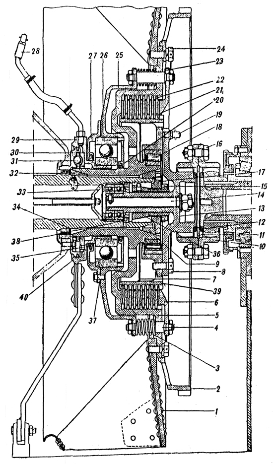 Plate 25 - Engine Clutch