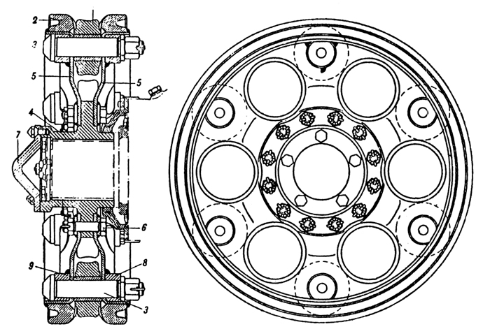 Plate 40 - Sprocket Wheel