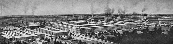 Packard Motor Car Company Plant at Detroit.