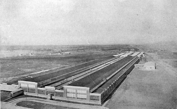 Bird's-Eye View of the Dayton-Wright Airplane Company's Plant at Moraine, near Dayton, Ohio