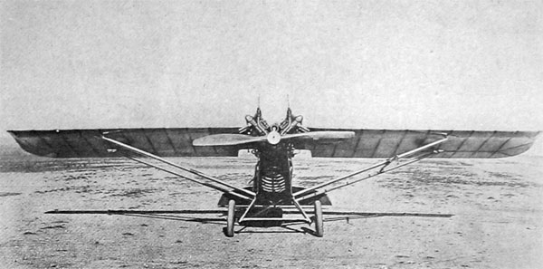 A Loening Monoplane on the Ground U. S. Air Service Photo