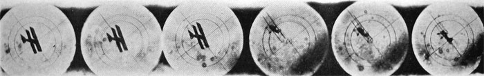 "Film from Machine-Gun Camera Showing ""Shots"""